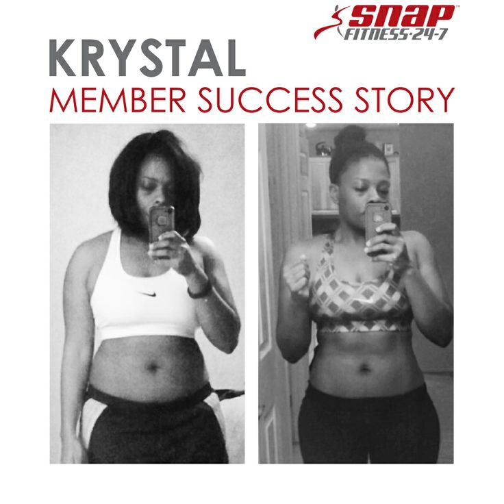 The holiday season left Krystal's nutrition in a rough state. To get her healthy lifestyle back, she joined Snap Fitness. In just a couple months, she saw the results she had hoped for.