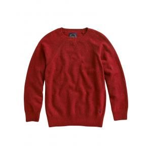 Joules Denston Mens Jumper - £59.95 www.countryhouseoutdoor.co.uk - Get decked out and flecked out with this wool-rich jumper. In works-with-everything navy and stand-out red, it's perfect to pull on over a shirt. With detailed overstitching and contrast elbow patches that run the length of the forearm.