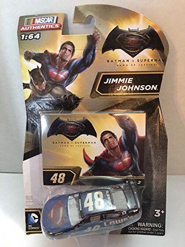 2016 Nascar Authentics 1:64 - Batman vs Superman: Dawn of Justice Jimmie Johnson #48 Superman Editio @ niftywarehouse.com #NiftyWarehouse #Batman #DC #Comics #ComicBooks
