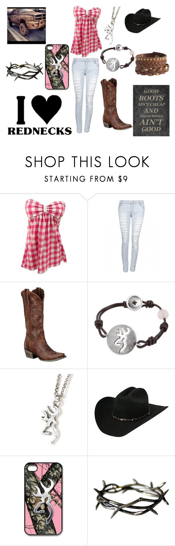 """Country date:)"" by horses4ever1322 ❤ liked on Polyvore featuring Lane, Pieces and country"