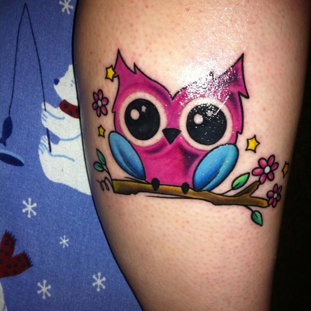 owl tattoo | Owl Tattoos | Pinterest