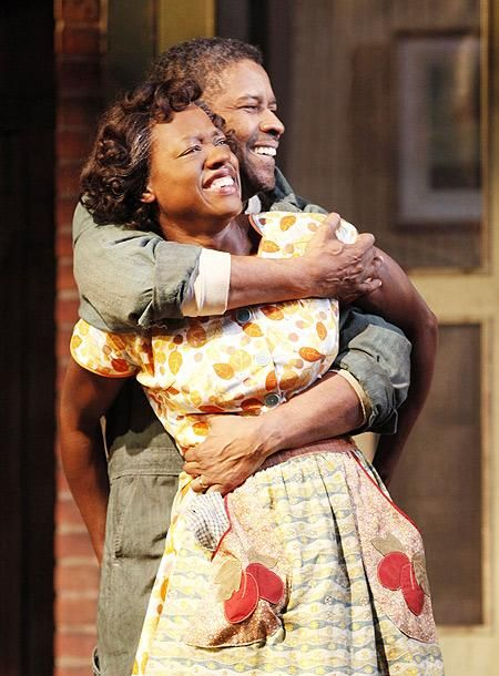 August Wilson play Fences on Broadway 2010 - Denzel Washington and Viola Davis                                                                                                                                                                                 More