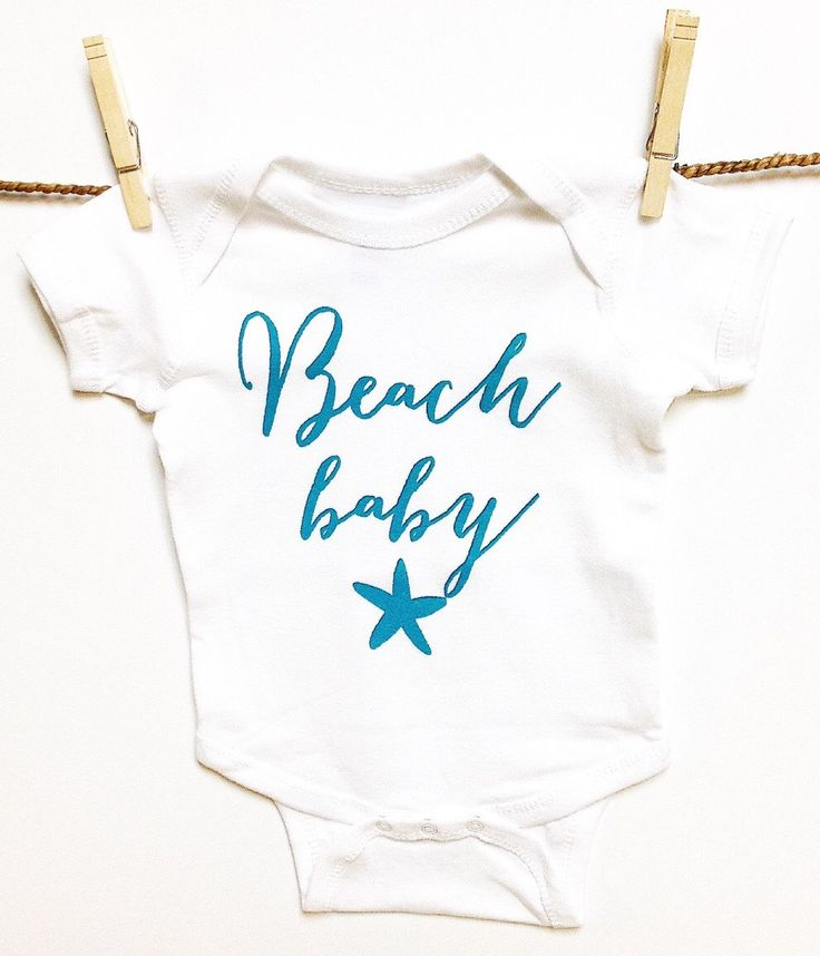 Baby Clothes. BEACH Baby with AQUA ink baby romper onezee. baby gift. baby shower. Baby announcement. Baby boy. Baby Girl. Ocean. Nautical by BayBeeThreadz on Etsy https://www.etsy.com/listing/151589441/baby-clothes-beach-baby-with-aqua-ink