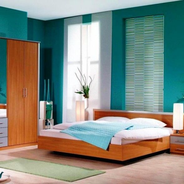 Blue Color Schemes Enhancing Modern Bedroom Decorating: 65 Best Teal Images On Pinterest