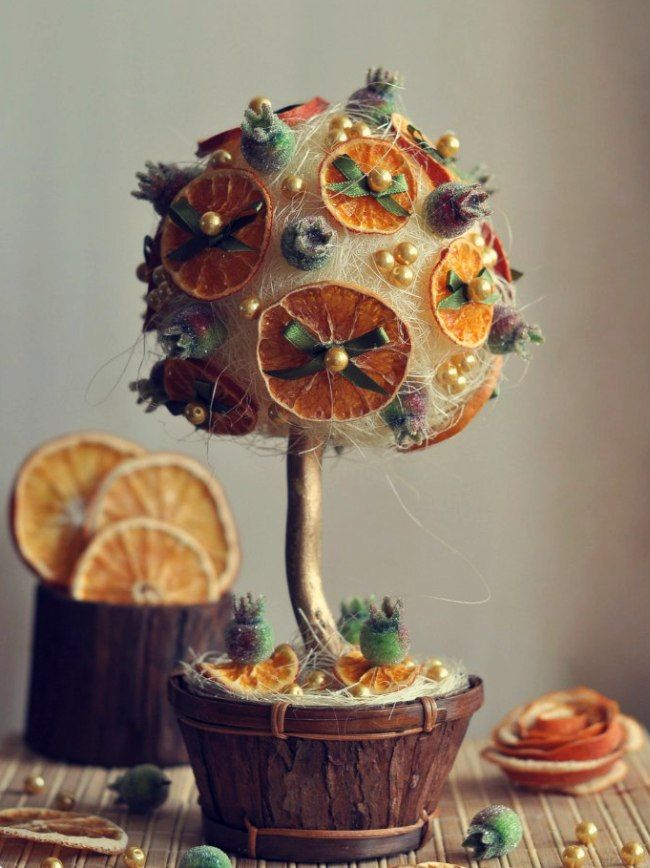 Декоративное дерево своими руками