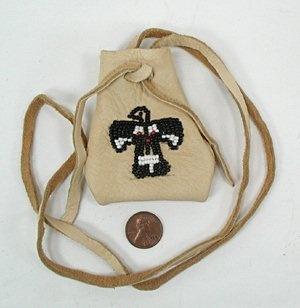 Native American Shoshone-Bannock medicine bag