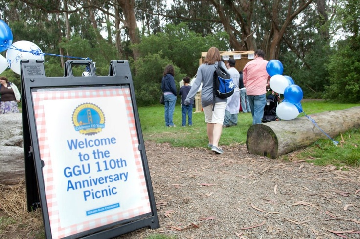 Golden Gate University celebrates its 110th anniversary with a picnic at Golden Gate Park in 2011