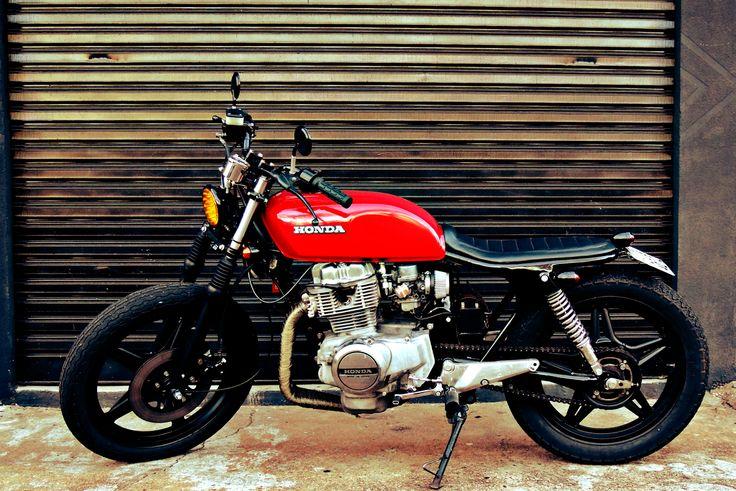 CB 400 Brat by Renan Gracciano | Garagem Cafe Racer