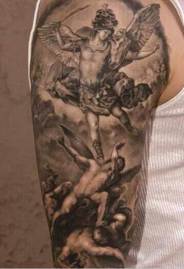 st michael tattoo sleeve - Google Search