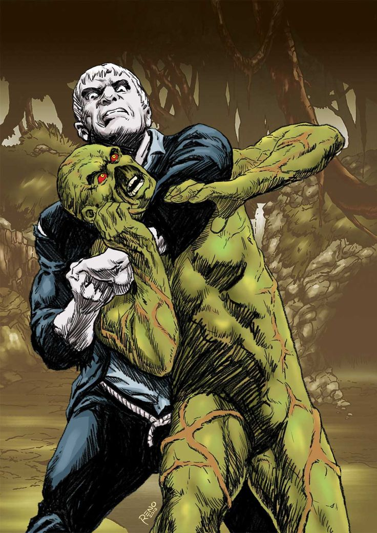 Solomon Grundy Vs Swamp Thing Versus Pinterest Swamp