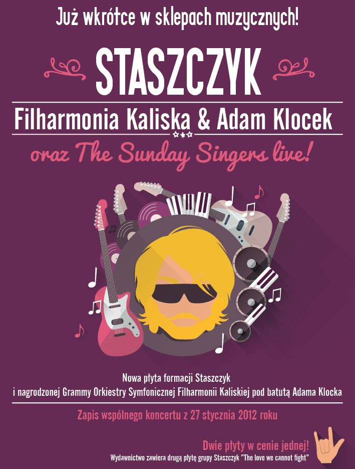 Poster for music group  | Design: www.pinkelephant.pl /poster /layout /portfolio /design