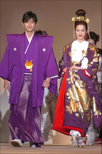 japanese wedding dress | Only family members of the bride and groom can attend. It is usually ...