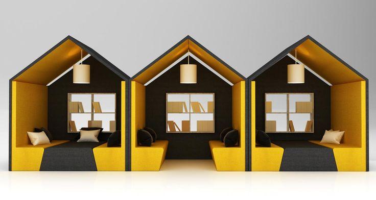 Schön The Hut Office Booth | Acoustic Office Hut | ARTDESK Aime Le Mobilier Design  U0026 Vintage | Pinterest | Acoustic