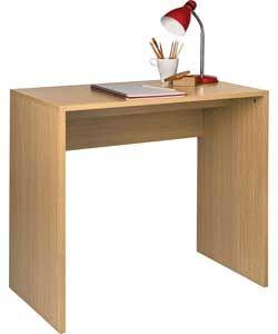 Miami Office Desk - Oak Effect.