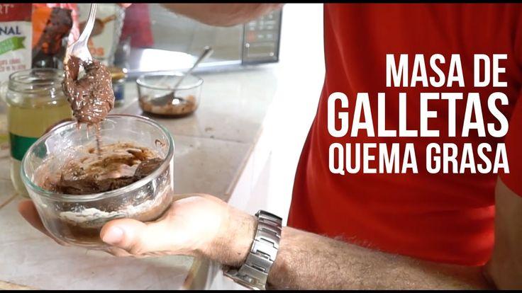 La MEJOR Masa de Galletas para Bajar de Peso. Galletas Saludables sin Ca...