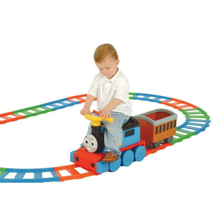 Thomas 6V Ride On Train with Tracks