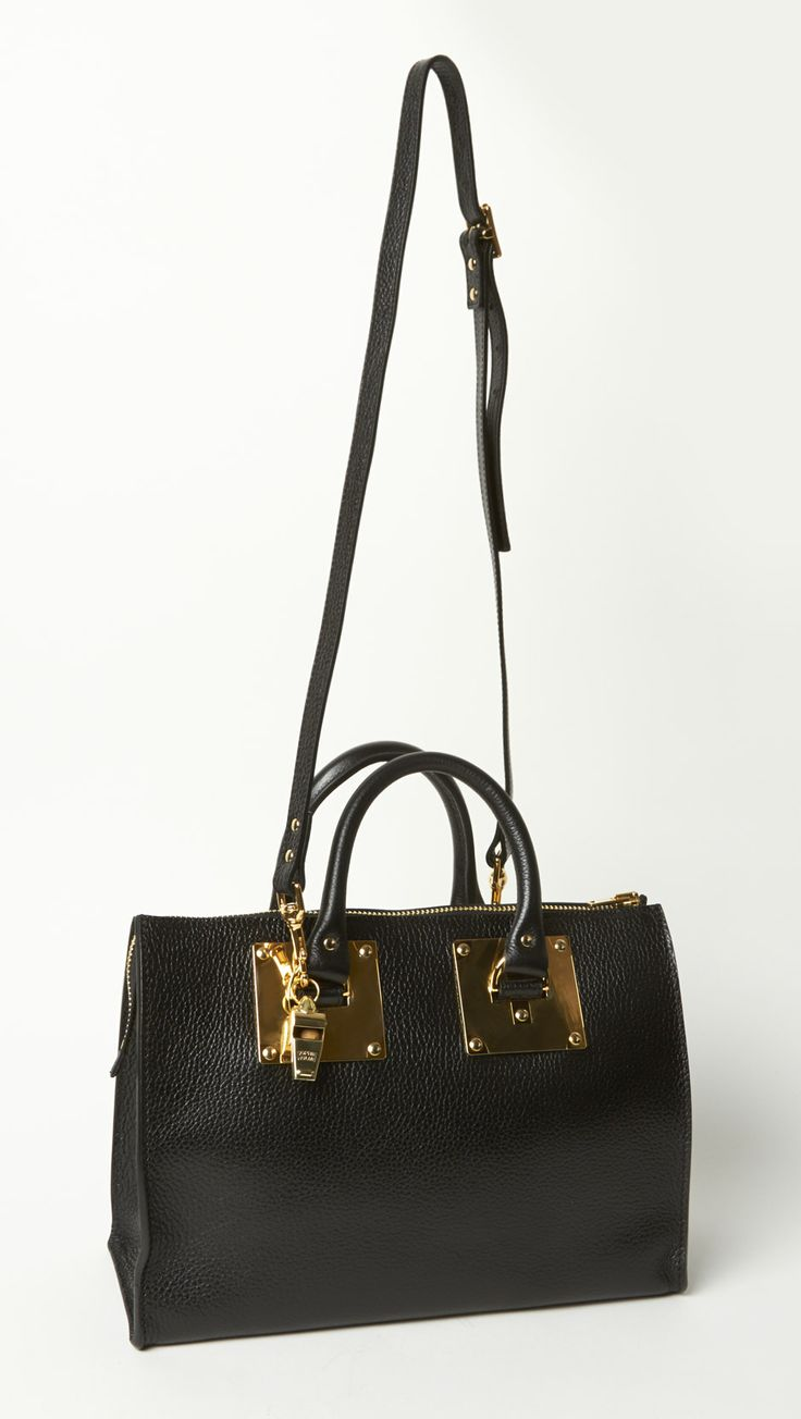 Sophie Hulme Mini Zip Top Bowling Bag | Business Class | Pinterest ...