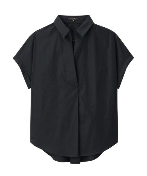 INDIVI(インディヴィ)のスキッパービッグシャツ(シャツ/ブラウス)|ネイビー