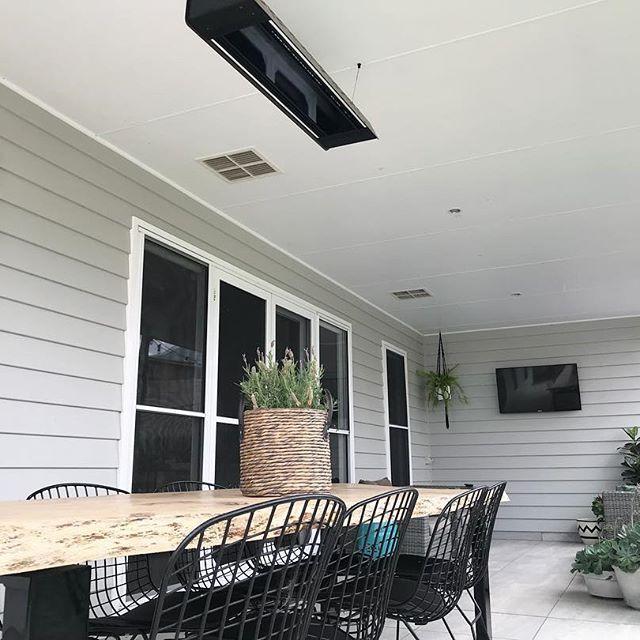 outdoor living weatherboard grey