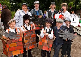 Yvonne Byatt's Family Fun: Mary Poppins Party Ideas