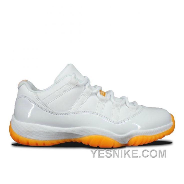 Big Discount 66 OFF Authentic 580521139 Air Jordan 11 Retro Low Girls WhiteWhiteCitrus NA3dd