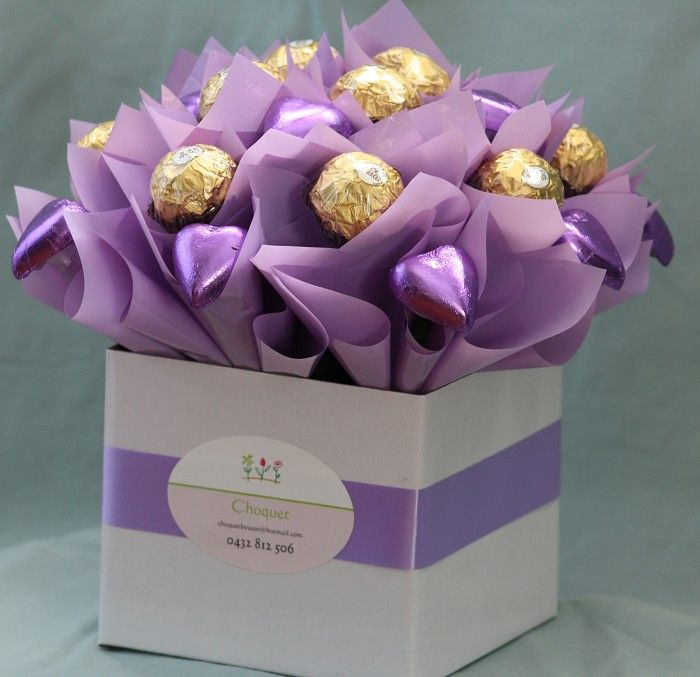 Edible Chocolate Bouquet - Simply Beautiful