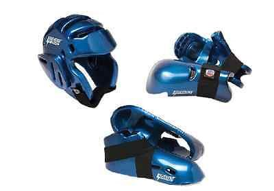 Head Gear 179780: Proforce Sparring Gear Set Head Foot Hand Pads Martial Arts Karate Kids Adults BUY IT NOW ONLY: $64.5