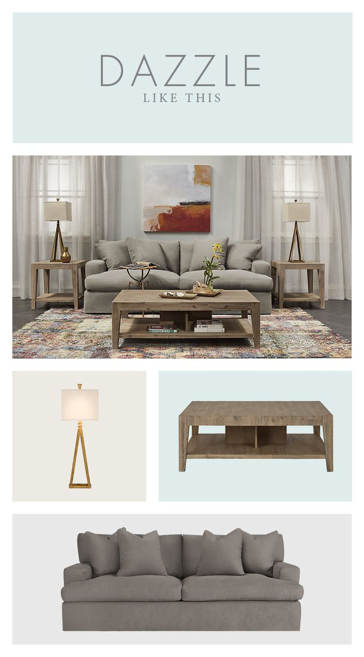 We make casual an art form with living room furniture that looks just as good as it feels.