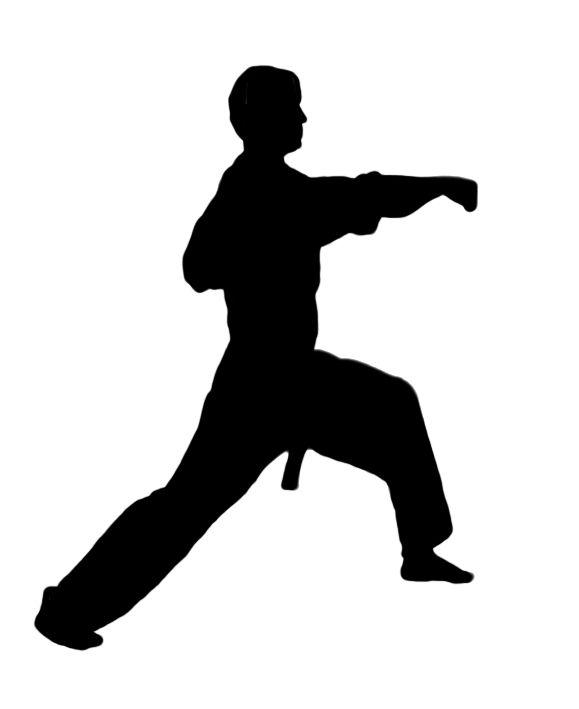 Karate Figures Clipart Kid 3 Martial Arts Kids Karate Silhouette Art