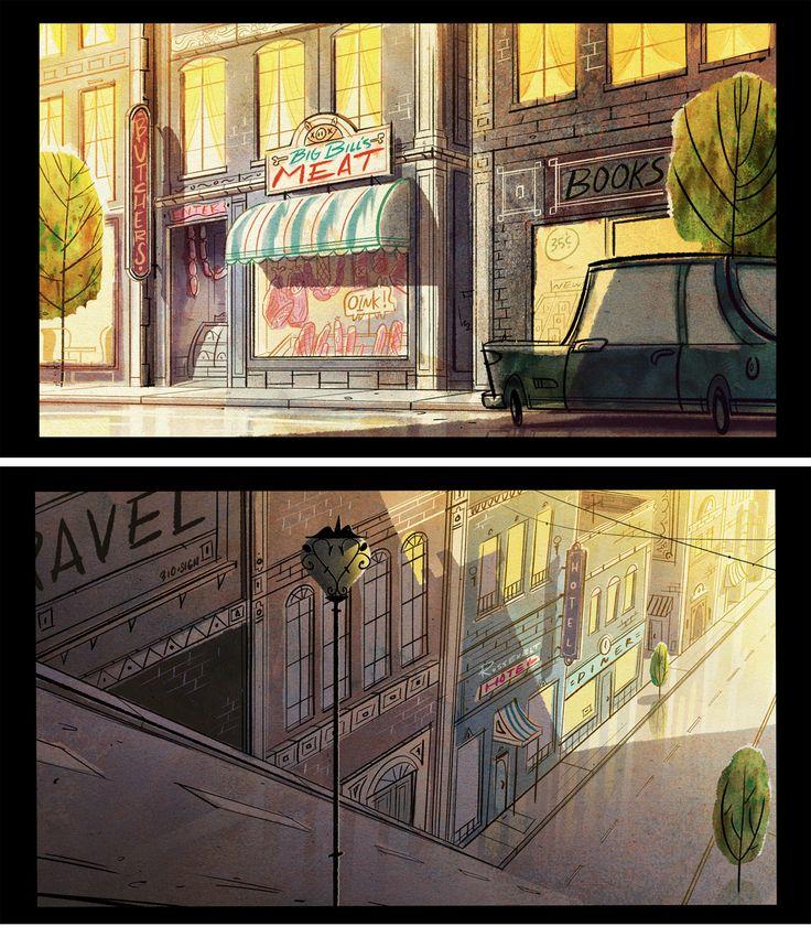Artes dos novos curtas do Mickey Mouse | THECAB - The Concept Art Blog