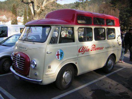 HOT TRANSPORT: Bussen ALFA ROMEO I: Romeo Window, Window Vans