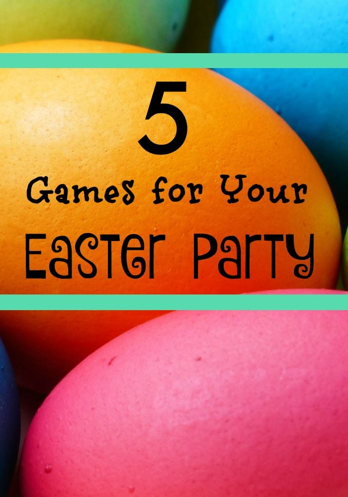 All you need are these five Easter party games for your party to be a success! Send out your invites because the more the merrier!