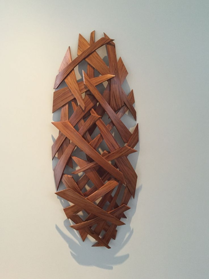 Jamie Adamson artist - steam bent Rimu