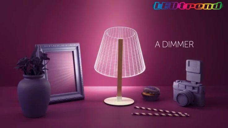 3D lamper med LED-lys fra ledtrend