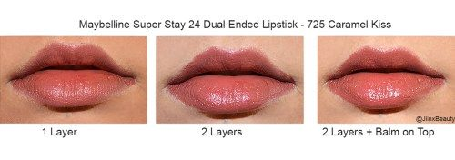 Check out my #Review and #Swatches of the #Maybelline Super Stay 24 Dual Ended lipstick to see if it's any good :) #beauty #bblogger #drugstore #lipstick #bbloggers #makeup #liquidlipstick #beautyguru