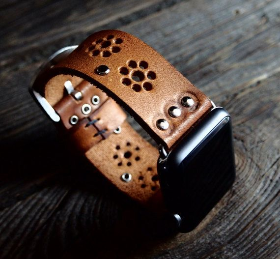 Bohemian Vintage Apple Watch Band Strap 38mm/  by AliceMidnight