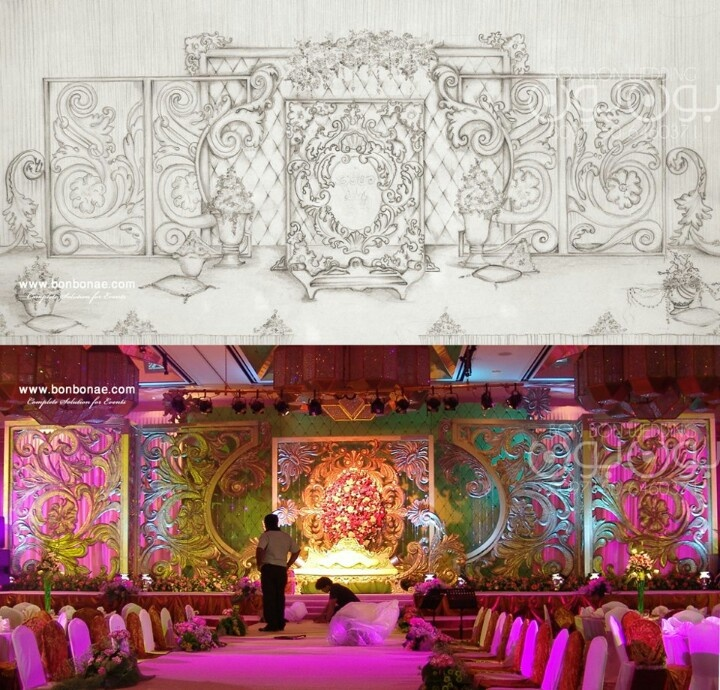 61 best wedding stage decor images on pinterest hindu for Arabic decoration