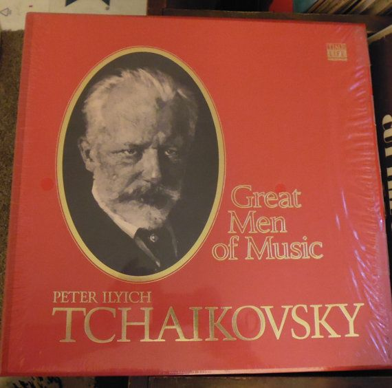 Tchaikovsky Time Life Great Men of Music vinyl records