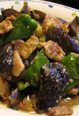 子供も大好き!豚なすピーマンみそ炒め by izakeiji [クックパッド] 簡単おいしいみんなのレシピが260万品