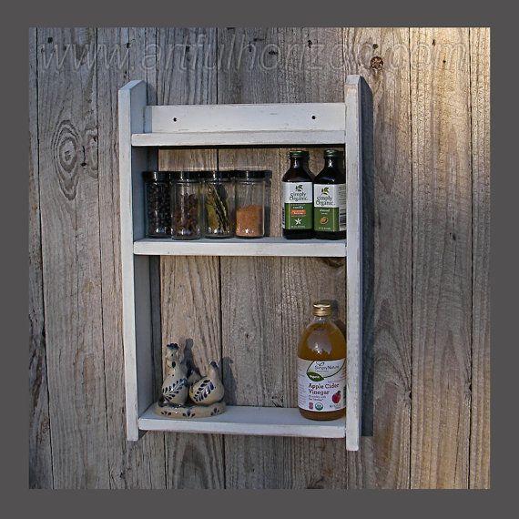 Wood Spice Rack