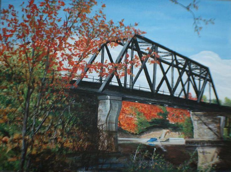 Huntsville Ontario Train Bridge