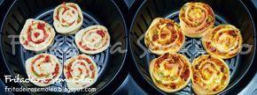 Pizza Enrolada na AirFryer - Fritadeira sem Óleo - AirFryer Mais