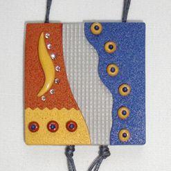 Náhrdelník z Cernitu s texturami