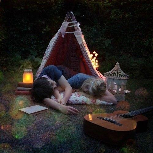 Camping love #choosetobemoreloving @PennFoster
