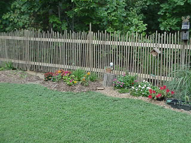 Tobacco Stick Garden Fence