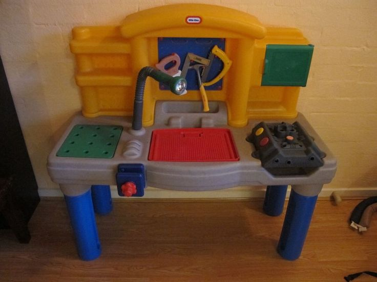 Little Tikes Work Bench And Lego Table