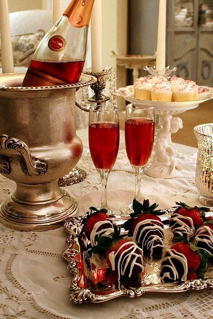 Christmas: Glamour and Traditional:  After dinner delicacies.: