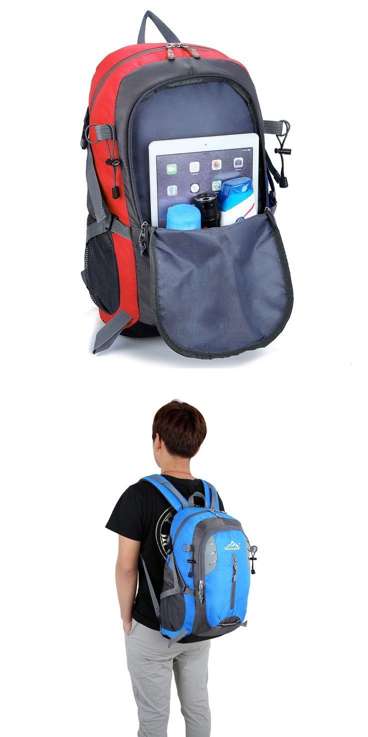 35L Backpack Waterproof Soft Nylon Durable Travel Rucksack Backpacks High Capacity Outdoor Sport Shoulder Bag Drop Shipping