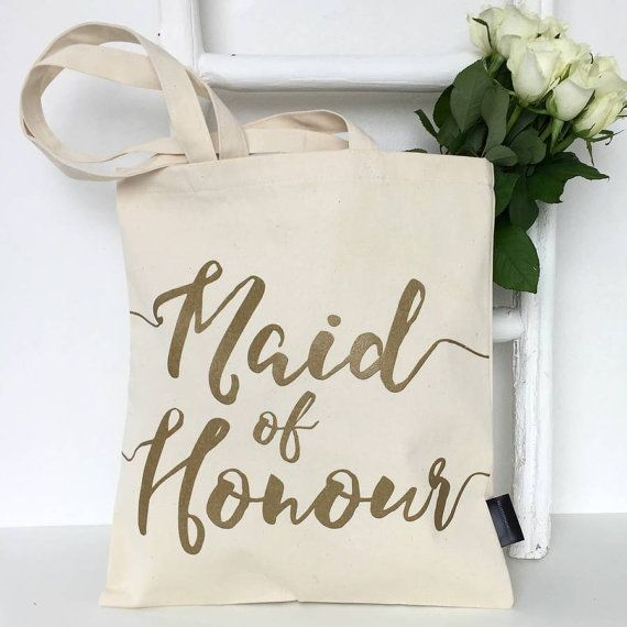 Maid Of Honour | Wedding Bag | Maid Of Honour Gift | Maid Of Honour Bag