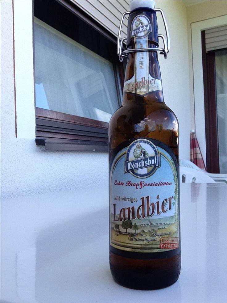 Mönchshof Landbier - Note 3 (sehr leicht mit malzigem Abgang)